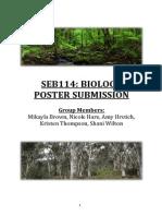 SEB114 Biology Report Final