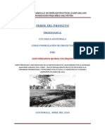 Perfil Proy. Infraestructura Sanitaria - Comunidades Pequeñas Del Peten(2)