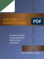 Funciones de La Admin