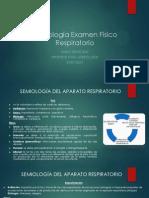 Semiología Examen Físico Respiratorio Unab