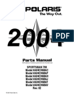 2004 Sportsman 700 - Parts Manual