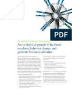 Deloitte - Learner Centric Learning (Employee Behaviour Change)
