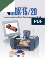 Brochure MDX20
