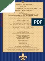 Congressman JosephCao 1-31-09 Invite