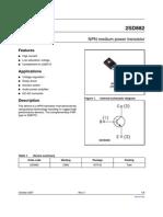 datasheet D882