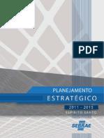 Planejamento Estratégico SEBRAE-ES - 2011-2015