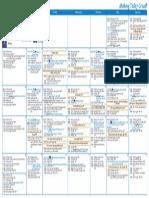 V!VA Pick 08 2014 Calendar