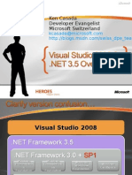 D102_Visual Studio 2008 and .NET 3.5 Overview
