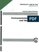 ISA S5 1 Instrumentation Symbols and Identification