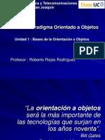 Unidad 1.0 - Bases de La Orientación a Objetos