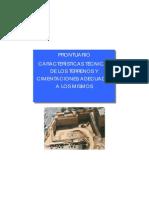 Caracteristics Tecnicas de Los Terrenos y Cimentaciones