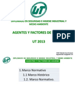 Agentes y Factores de Higiene UT 2013 Y