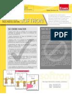 Ficha Tecnica Softron