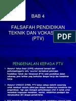 Bab 4 Falsafah Pendidikan Teknik Dan Vokasional Ptv (1)