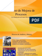 Mejorar procesos mediante simulación