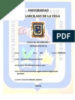 EL PROCESO CAUTELAR EN NUESTRA LEGISLACIÓN PERUANA - ANDRÉS CUSI ARREDONDO
