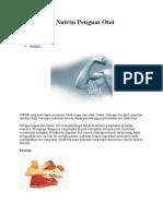 Empat Pilar Nutrisi Penguat Otot