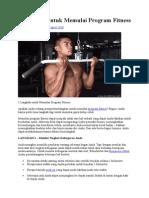 5 Langkah Untuk Memulai Program Fitness