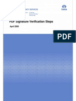 PDF Signature Verification