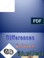 Differences Between Males and Females