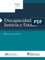 Discapacidad, Justicia y Estado IV