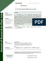 Bioadsorbent to Clean Industrial Effluents by Seaweeds