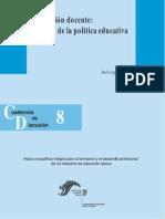 Formación Docente, Desafíos de La Política Educativa.