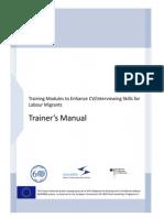 EU CV-Interview Skills Workshop