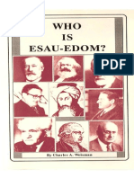 Who is Esau Edom