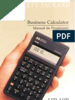 Manual Calculadora HP