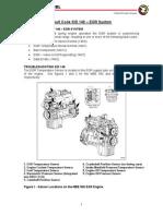 MBE900 EGR Sistema