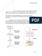 placement and routing methods