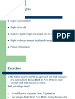 7 BankerGÇÖs Rights