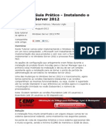 Guia Pratico Instalando o Windows Server 2012