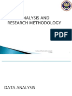 Data Analysis and Research Methodology