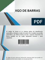 Codigo de Barras