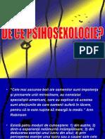 Initiere in Psihosexologie