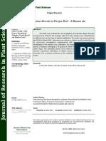 Freshwater Diatom Diversity in Deepor Beel - A Ramsar Site