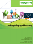 Leading to Engage Workshop for Supervisors and Managers