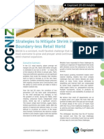 Strategies to Mitigate Shrink in a Boundary-less Retail World