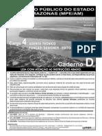 Cespe 2008 Mpe Am Agente Tecnico Designer Editorial e Grafico Prova