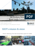 SW Roxbury safety project slide deck