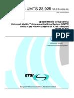 3GPP DTR-SMG 23.925v0.2.0