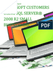 Microsoft Customers using SQL Server® 2008 R2 Small Business CAL - Sales Intelligence™ Report