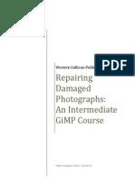 Repairing Damaged Photos With GIMP
