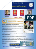 DG's Newsletter August 2014