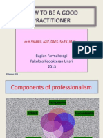 How to Be a Good Practioner 2013 - Copy