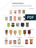Scentsy Fall Winter 2014 Discontinued List