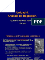 Unidad 4 Regresion Simple