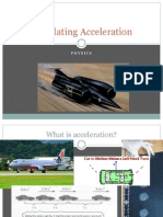 M3 - Physics 02b - Acceleration